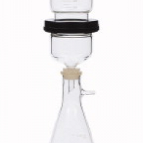 1000 ml flask for 47mm and 90mm vacuum filtration unit