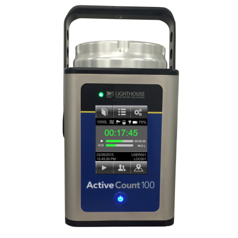 ActiveCount100 Microbiological Sampler
