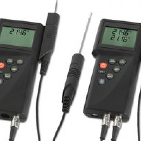 1-channel thermometer P700 with integral calibrating function